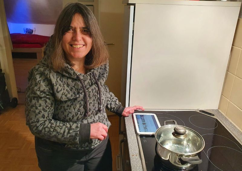 Virtuelle Kochgruppe
